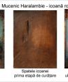 Restaurare icoană Sfântul Haralambie