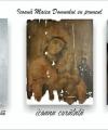 Restaurare Maica Domnului cu pruncul Iisus icoană veche