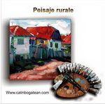 Peisaje rurale pictură pe pânză de vânzare
