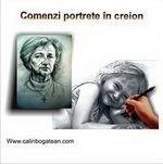 comenzi portrete în creion