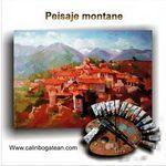 Peisaje montane pictură pe pânză de vânzare