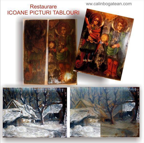 restaurare icoane restaurare picturi