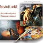 Servicii pictură reproduceri picturi restaurare lucrări de artă