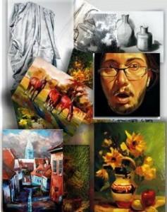 Cadoul perfect pictură picturi tablouri lucrări originale de artă