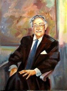Portret pictură în ulei pe pânză la comandă
