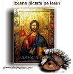 Icoane pe lemn pictură bizantină