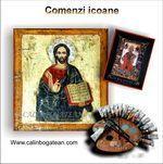 Comenzi icoane ortodoxe pictate pe lemn şi pe sticlă