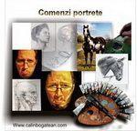 Comenzi portrete cu oameni picturi în ulei pe pânză