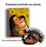 Comenzi portrete pictură în ulei pe pânză