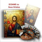 Icoane cu Iisus Hristos pe lemn