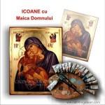 Icoane Maica Domnului pictură bizantină pe lemn