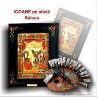 icoane pe sticlă Raluca picturi naive pe sticlă icoane tradiționale pictate pe sticlă