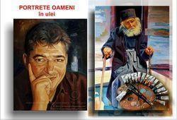Portrete oameni în ulei pe pânză pictură portrete lucrări de artă picturi portrete