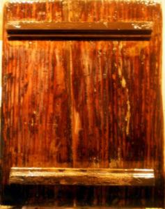 restaurare icoană suport lemn