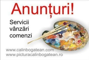 Anunțuri utile anunțuri vânzări anunțuri comenzi lucrări de artă
