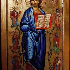 Iisus-Hristos-înconjurat-de-sfinţi-14