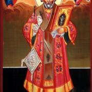 strongSfântului-Nicolae-de-la-mănăstirea-Căldărușanistrong-Icoană-bizantină-pictură-în-tehnica-tempera-pe-lemn-lucrare-de-artă-ortodoxă-pictură-pe-lemn-Icoană-la-comandă-şi-de-vânzare-semnată-de-pictorul-iconar-Călin-Bogătean-Icoană-pictată-în-anul-2016
