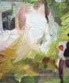 Detaliu tablou Cârciuma de la Rucăr