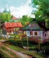 Satul mureșean case