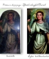 Restaurare pictură pe pânză Sfântul Dimitrie