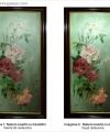 Restaurare natură statică cu flori trandafiri