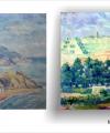 Restaurare tablou peisaj