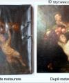 Restaurare tablou  îngeri